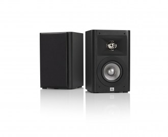 JBL Studio 220 Black Pair with Grille